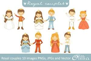 Royal couples