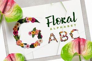 Floral Alphabet Kit
