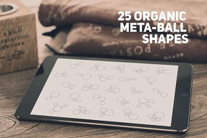 25 Organic Metaball Shapes