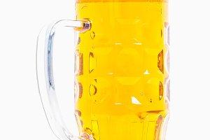 HDR German beer glass
