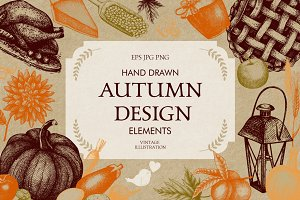 Vintage Autumn Design