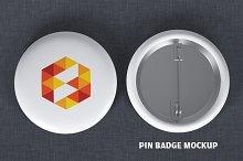 button mockup