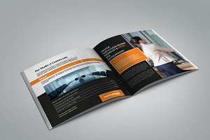 Hot! Square Business Brochure