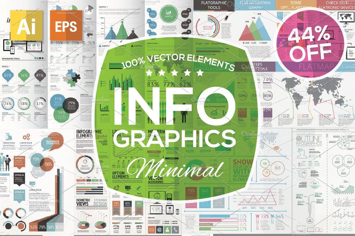 Infographic tutorial illustrator basicon