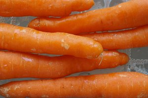 Orange carrots vegetables