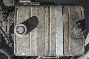 Fuel tank detail