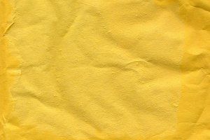 Yellow paper texture background