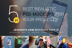 Best Realistic PSD Mockups September