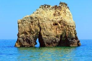 Rock near shore (Portugal)