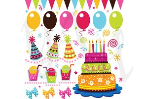Birthday Celebration Clip Art