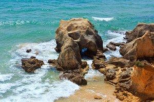 Atlantic rocky coast (Portugal).