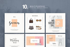 Multipurpose - Social Media Pack