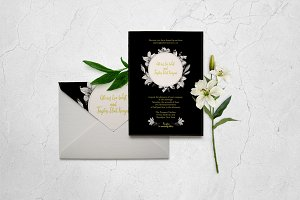 Classic Wedding Invitation Template