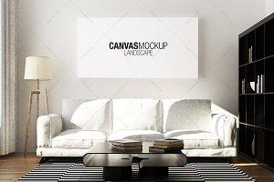 Canvas Mockup Scandinavian