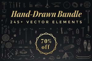 The Hand-Drawn Bundle Sale (70% off)