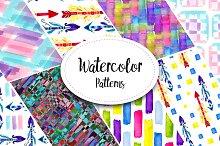 Amazing Watercolor Patterns
