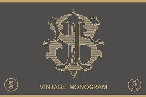 ST Monogram TS Monogram