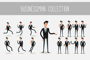 Businessman collection