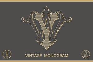 WY Monogram YW Monogram
