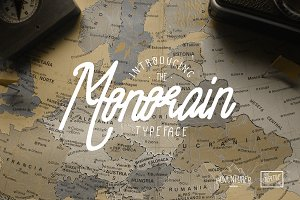 Monorain Vintage Handrawn + Bonus