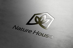 Nature Fresh Green House Logo