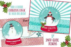 Snow Globe Elements + Bonus!