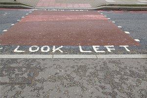 Look left