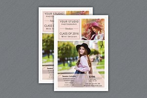 Senior Mini Session Template-V387