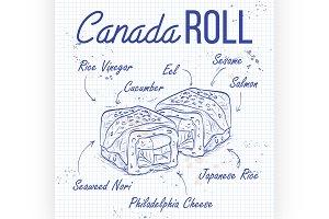 Canada rolls
