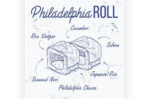 Philadelphia rolls