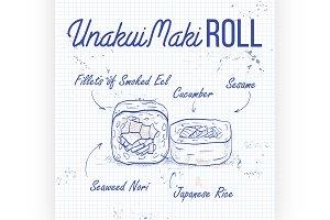 UnakuiMaki roll
