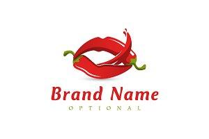 Chili Pepper Lips Logo