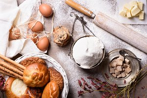 Baking ingredients & Pastry