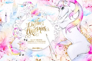 Unicorns Clipart