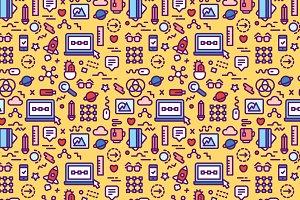 Internet Social Media Pattern