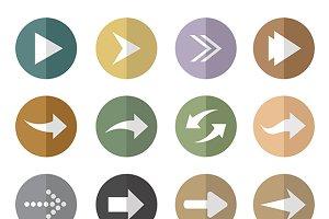 Vector group of arrow.