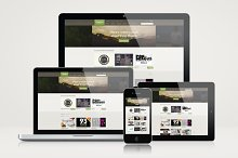 Responsive Website Mockup Templates