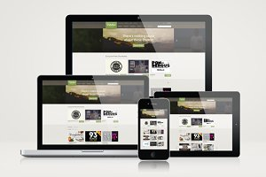 Responsive Website Mockup Templates