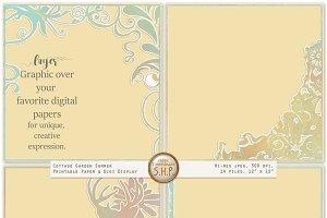 Soft Pastel 2 - Cutout Paper borders