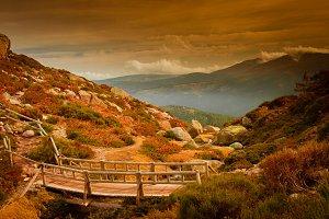 Autumn in Guadarrama national park