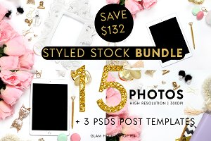 SALE $10 BUNDLE 15 STYLED PHOTOS