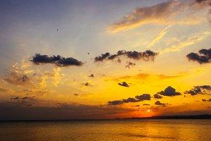 Sundown of september