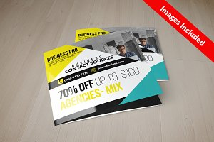 Square Trifold Brochure Templates