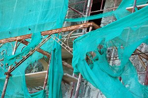 Old House Debris Netting