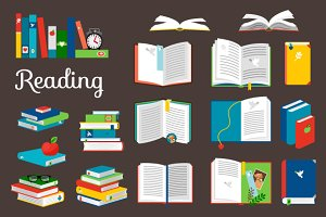Reading book set