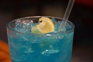 Blue Beverage !!