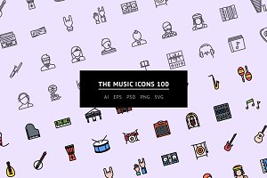The Music Icons 100