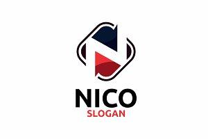 Letter N (Nico)