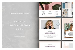 Launch Social Media Pack