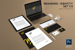 Branding / identity set V3 Mock-up